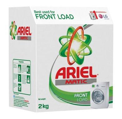 Ariel Matic Front Load Detergent Washing Powder - 2 kg