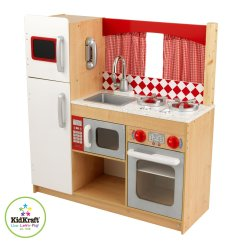 Wooden Play Kitchen Sets Tops Wood Vs Quotelectronic Quot Plastic Babycenter