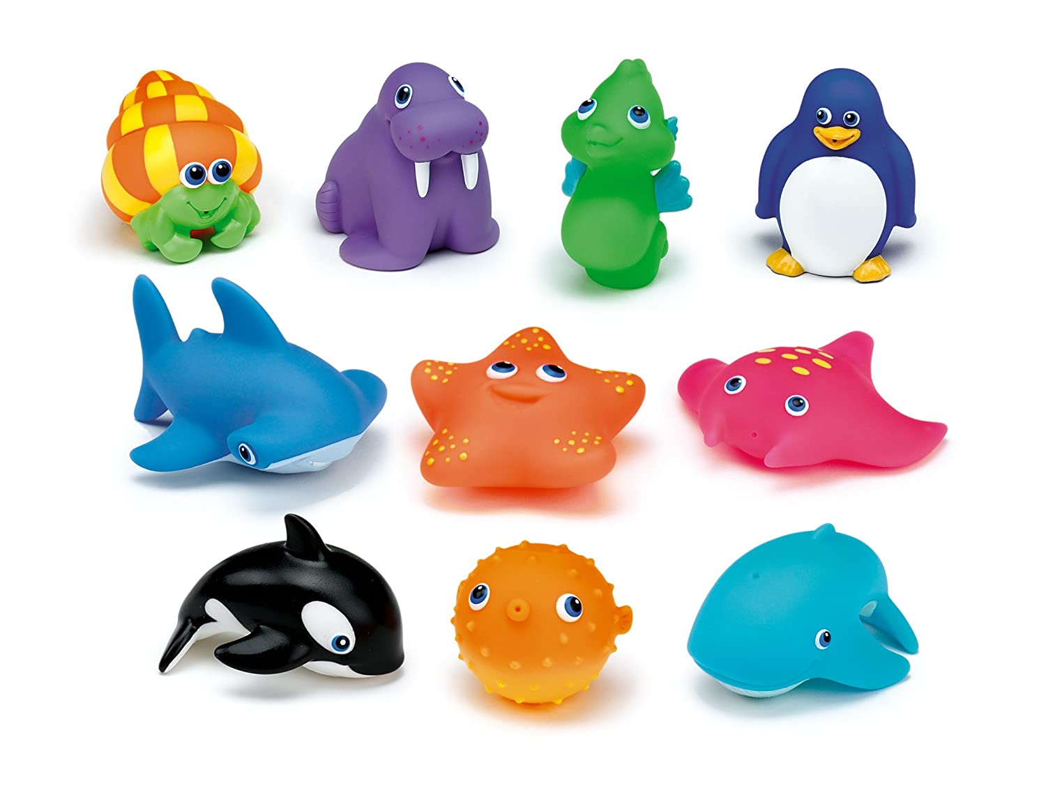 Munchkin ocean bath toys on Amazon
