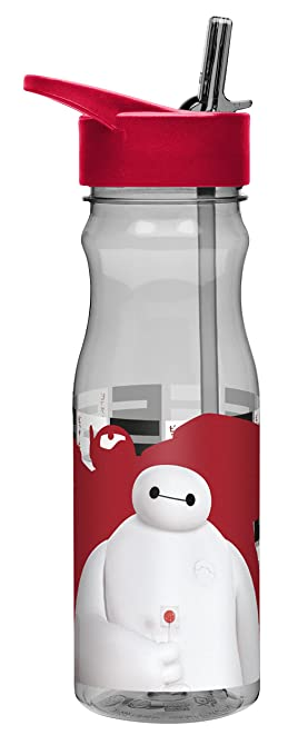 Zak Designs Disney's Big Hero 6 Tritan Water Bottle by Zak Designs, 25-Ounce, Clear