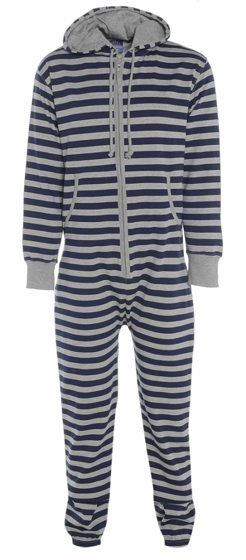 mens ladies onesie all in one jumpsuit pajama hoodie piece