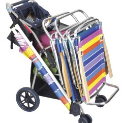 Wheeled Beach Chair Office Casters Lowes Top 10 Best Carts And Carriers For Summer 2018 2019