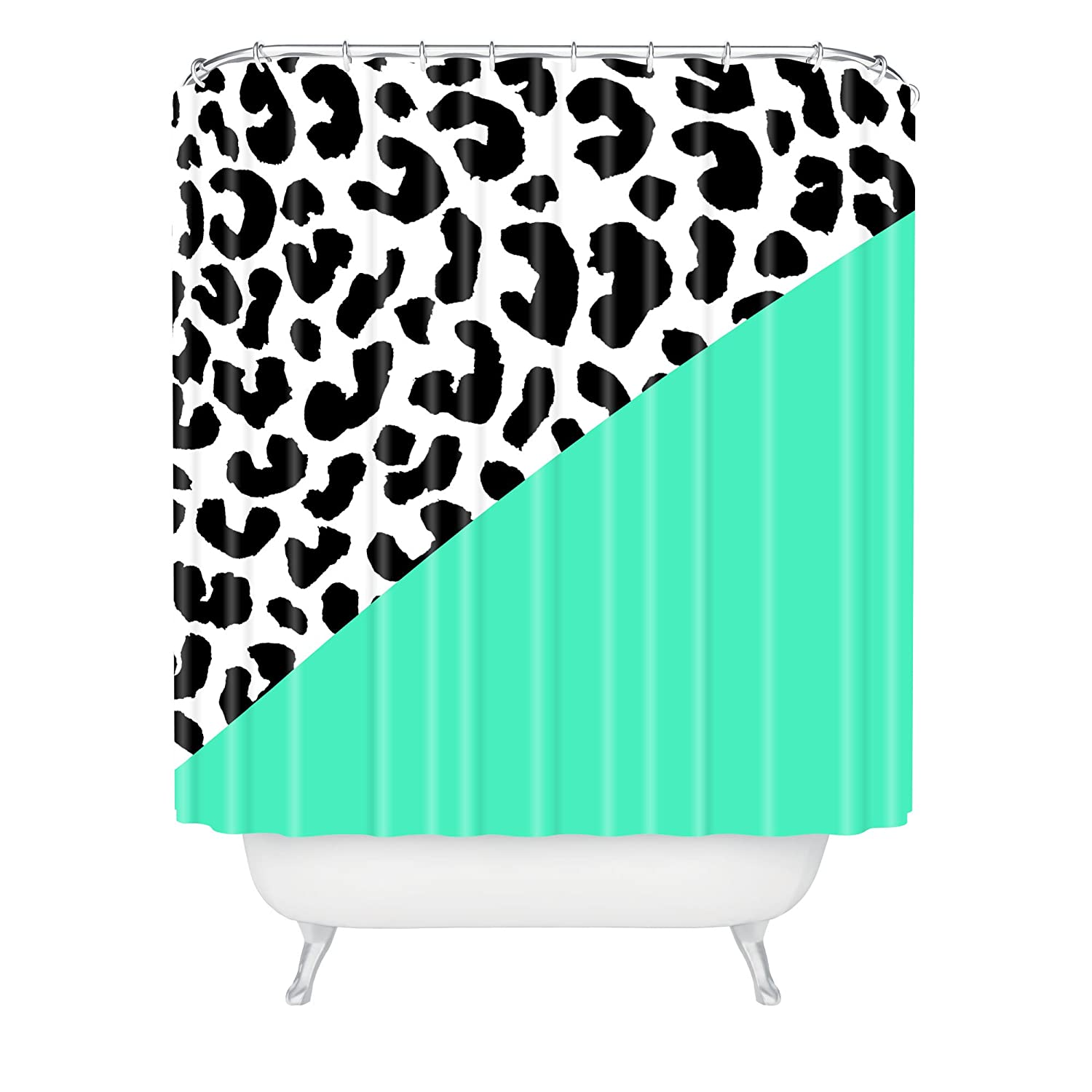 Rebecca Allen Leopard and Mint