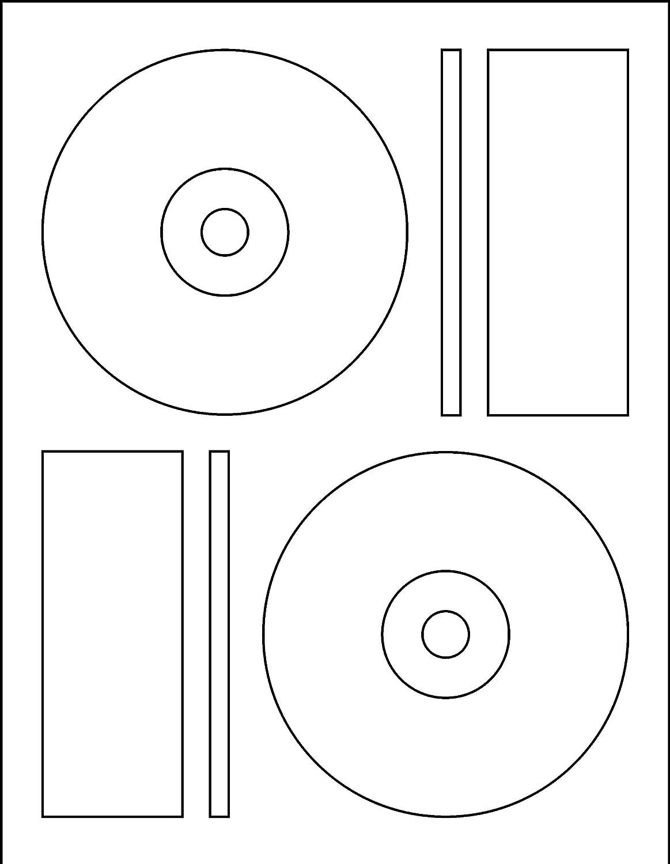memorex cd label template