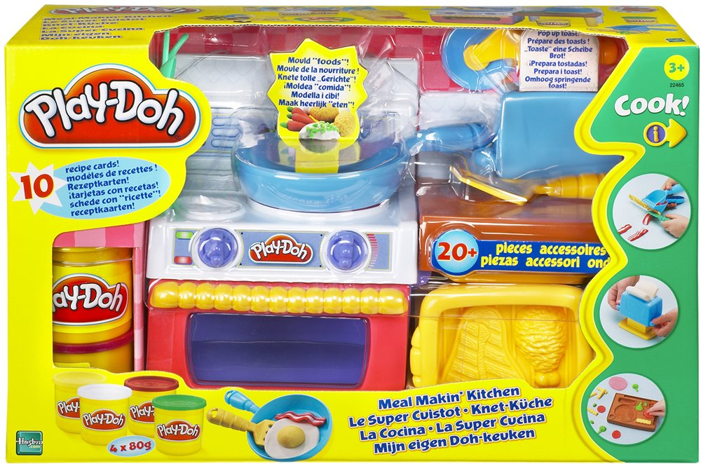 NEW PLAY DOH MEAL MAKIN KITCHEN COOKER OVEN TOASTER 20