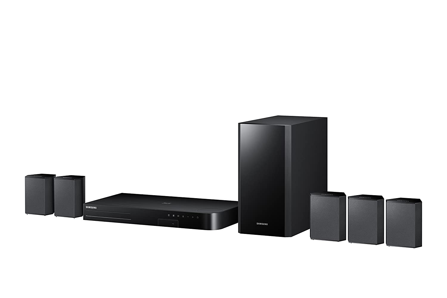 cheap surround sound system 2 systems under 200 each on amazon bgr. Black Bedroom Furniture Sets. Home Design Ideas