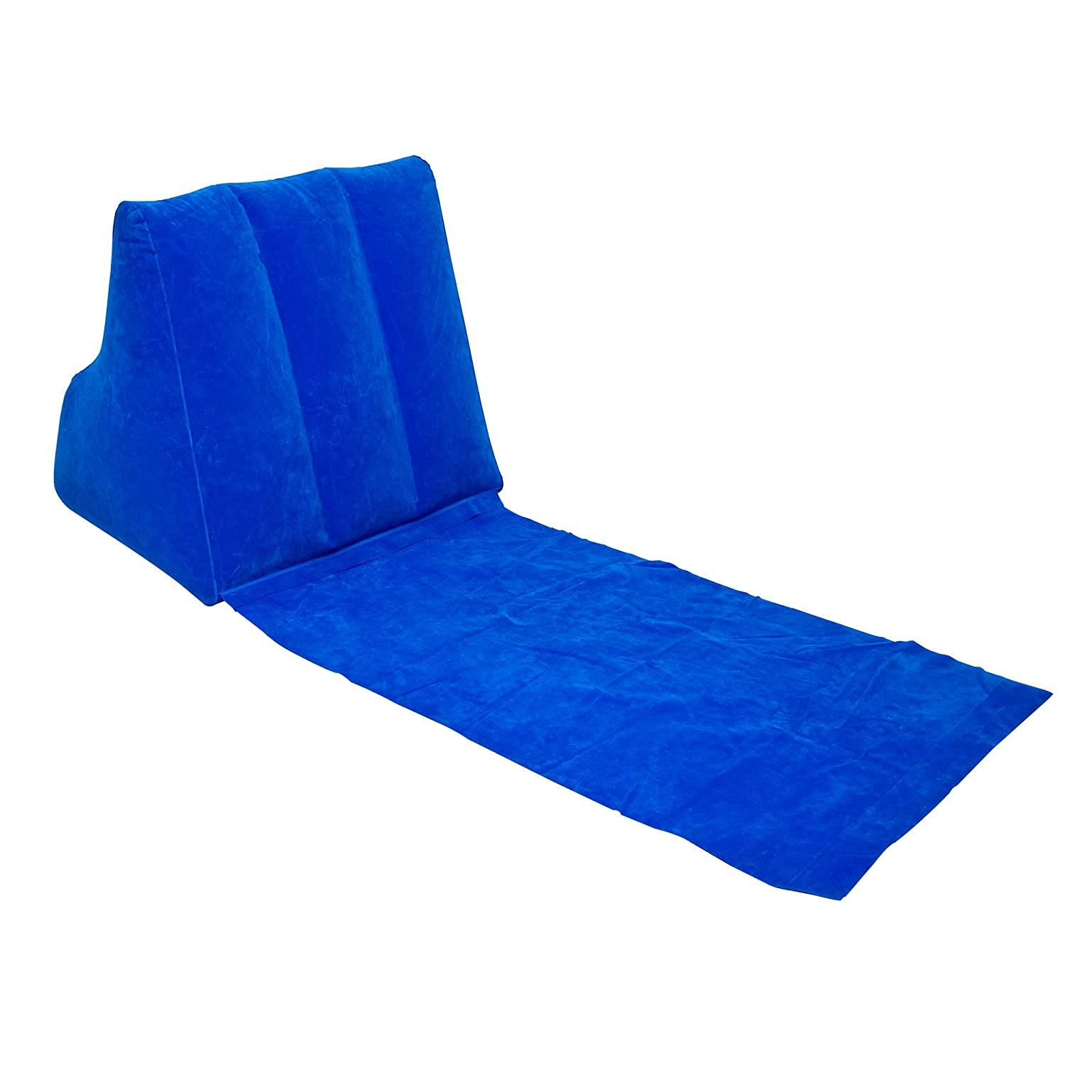 salon chairs ebay ez chair covers wicked wedge inflatable beach festival camping lounger back pillow cushion |