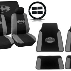 Batman Car Chair Baby Shower For Sale 15pc Gotham Gray Black And Silver Logo Seat