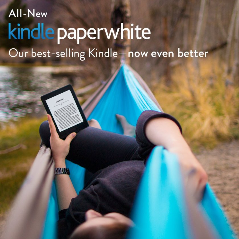 "All-New Kindle Paperwhite, 6"" High-Resolution Display (300 ppi) with Built-in Light, Wi-Fi"