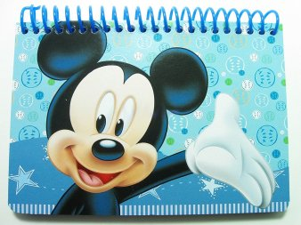 Disney Autograph Book with Spiral Binding