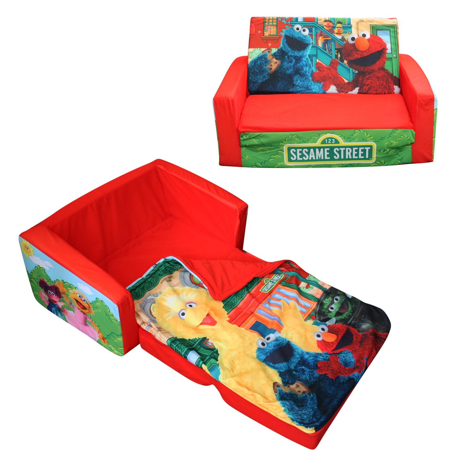 marshmallow flip open sofa disney toy story sleeper air mattress reviews for kids  fel7
