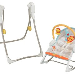 Swing Chair Baby Farmhouse Style Cushions Fisher Price 3 In 1 Infant N Rocker