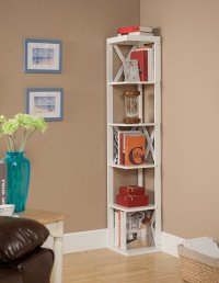 Decorative Bookshelf Case for Home-Corner, Ladder, Tree ...
