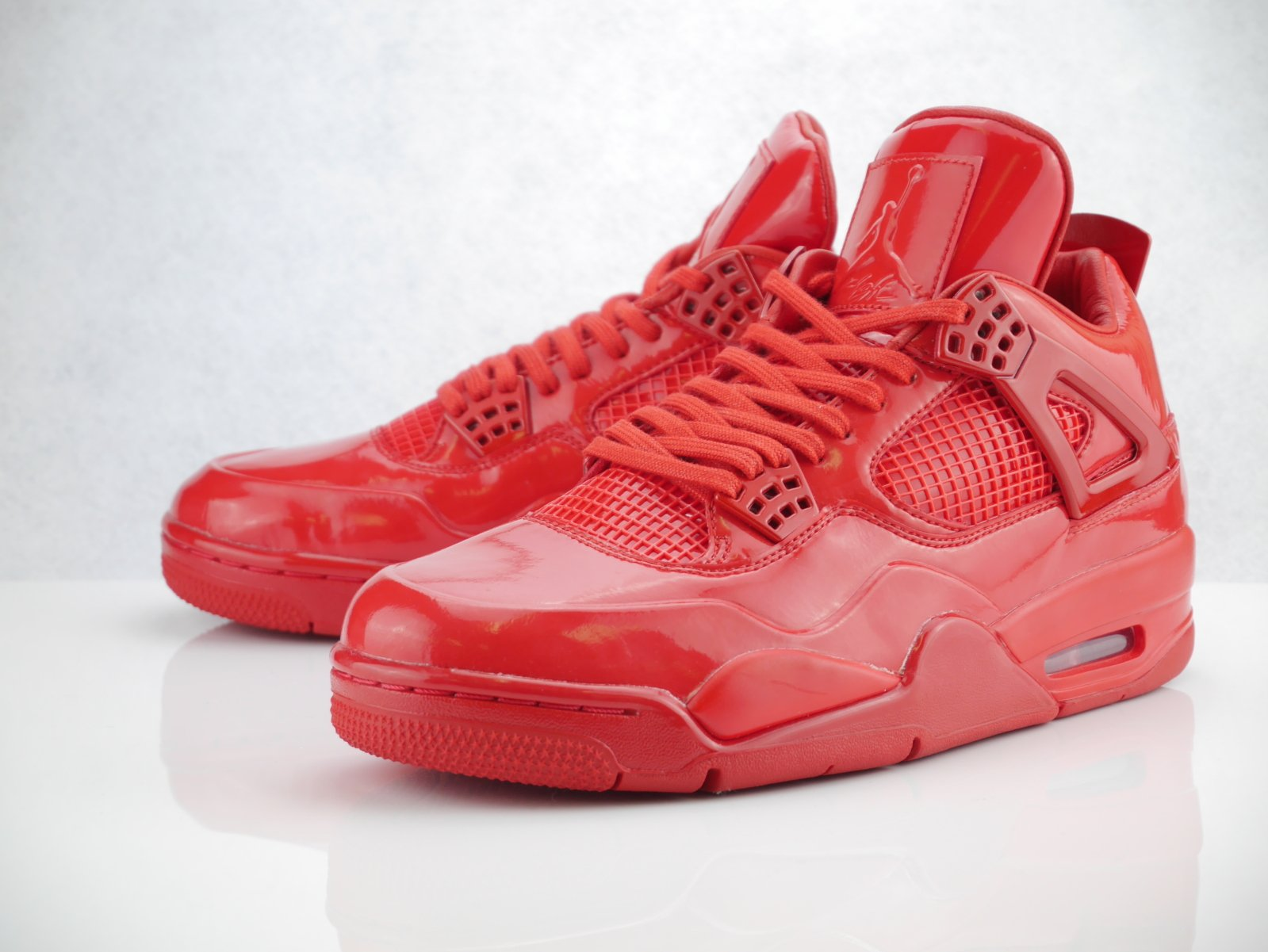 Jordan Men's Basketball 11Lab4 University Red Shoes