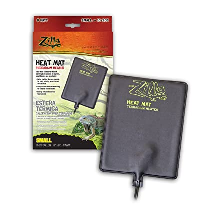 Zilla 09937 Terrarium Heater Heat Mat, 8-Watt, 6 by 8-Inch
