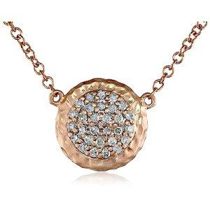 Phillips Frankel's Affair Rose Gold Diamond Necklace, 18