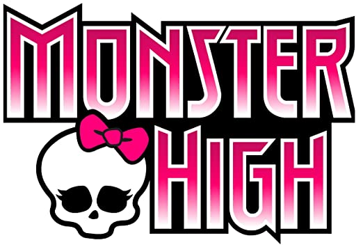 "Monster High Logo Removable Wall Sticker 10"" Inches Wide By 6"" Inches Tall"