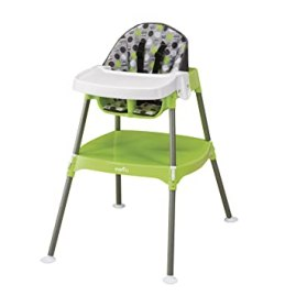 Evenflo Convertible High Chair, Dottie Lime