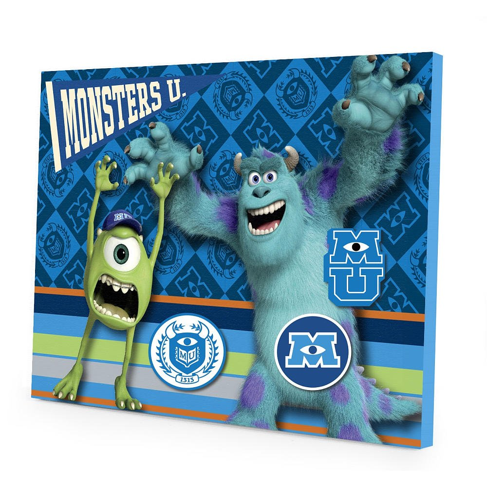 Disney Pixar Monsters University Magnetic Wall Art