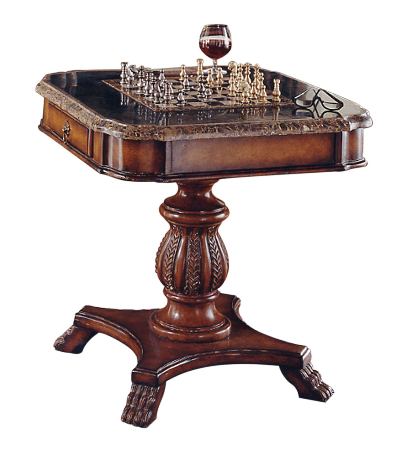 chess table and chairs gaming amazon furniture home