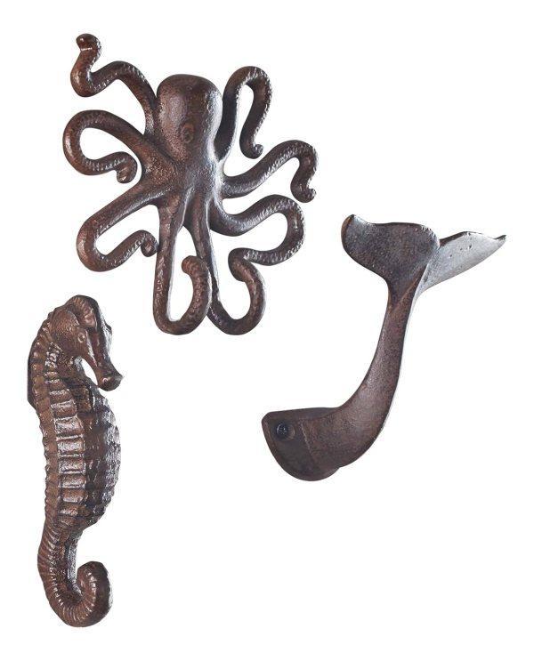 Fish Decorative Wall Hooks