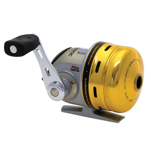 This is a spin cast reel