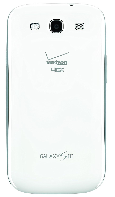 SAMSUNG GALAXY S III WHITE S3 SCH-I535 4G LTE VERIZON CDMA