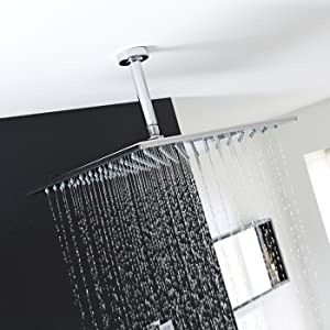 overhead shower head