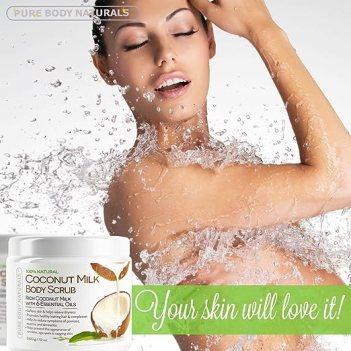 Coconut Milk Body Scrub