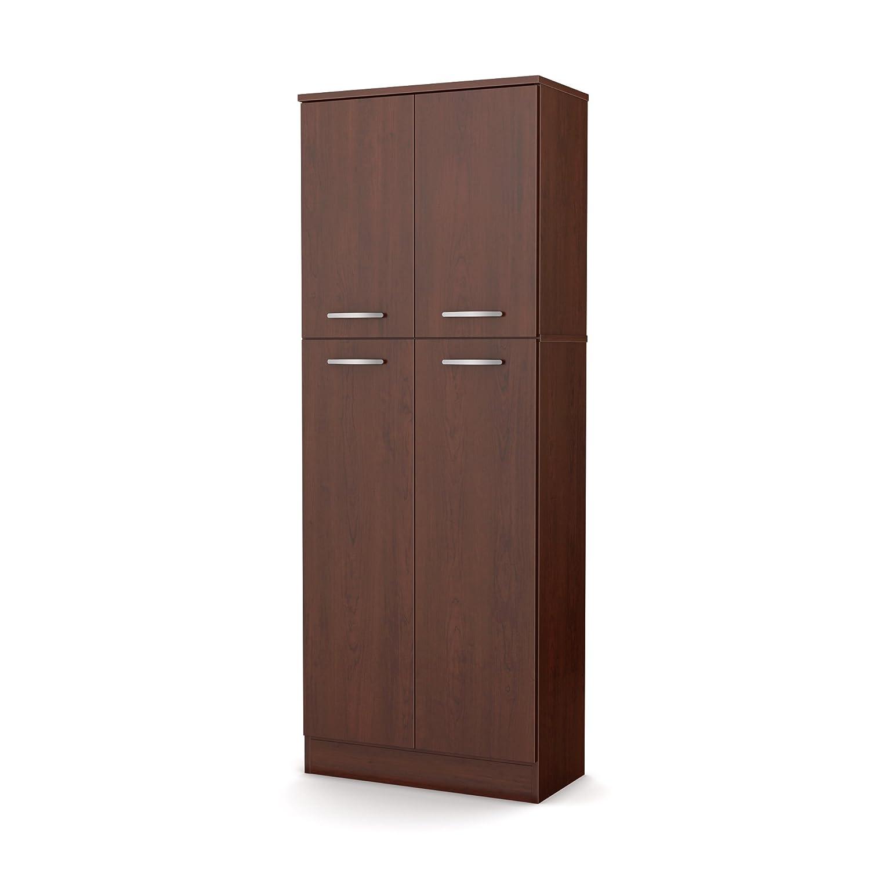 Kitchen Cabinet Pantry Cupboard Brown Organizer Food
