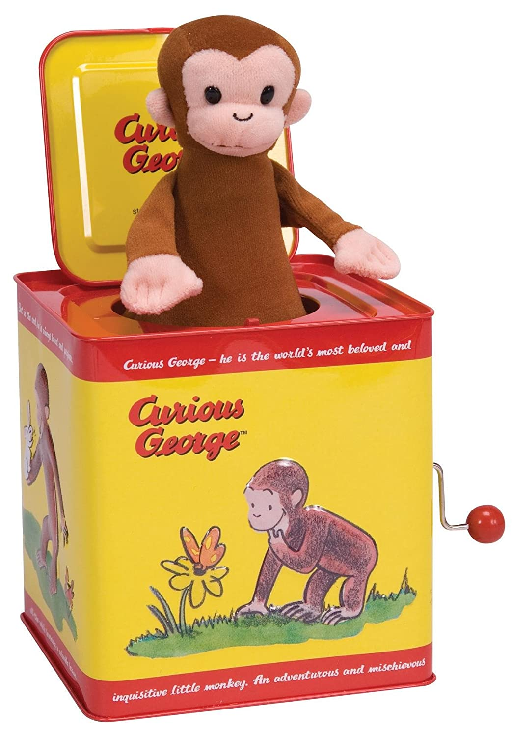 Curious George Jack In The Box New Free Shipping