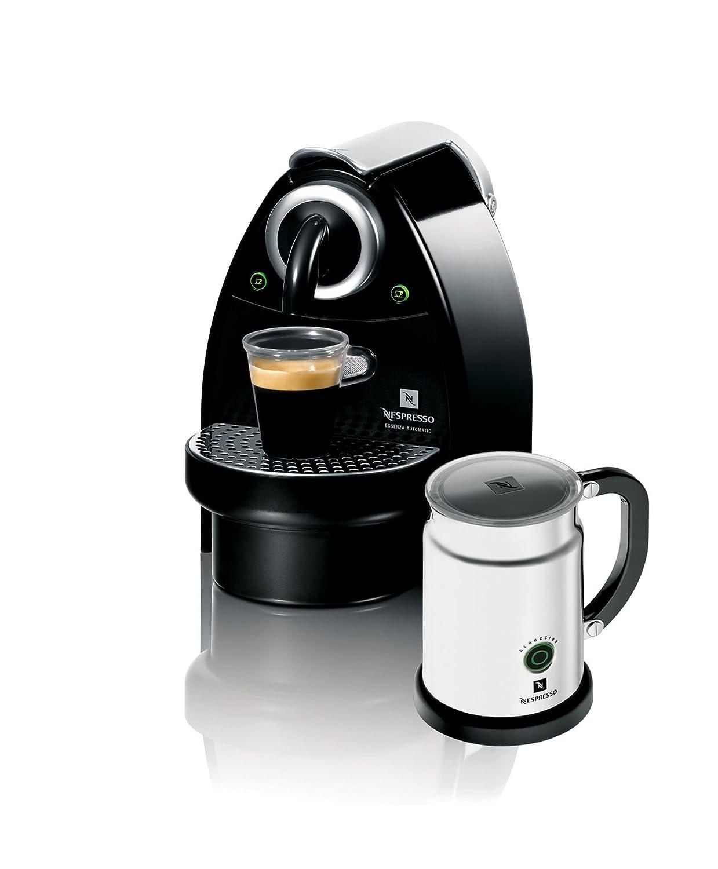 nespresso essenza c101 espresso maker with aeroccino milk frother