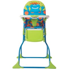 How To Fold Up A Cosco High Chair Configura Accessories Simple Deluxe Monster Syd