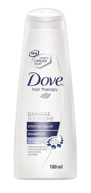 Buy Dove Intense Repair Shampoo, 180ml At Rs 124 Only @ Amazon