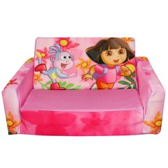 Dora The Explorer Flip Out Sofa Bed Large Brown Leather Kids Chairs And Sofas 2013