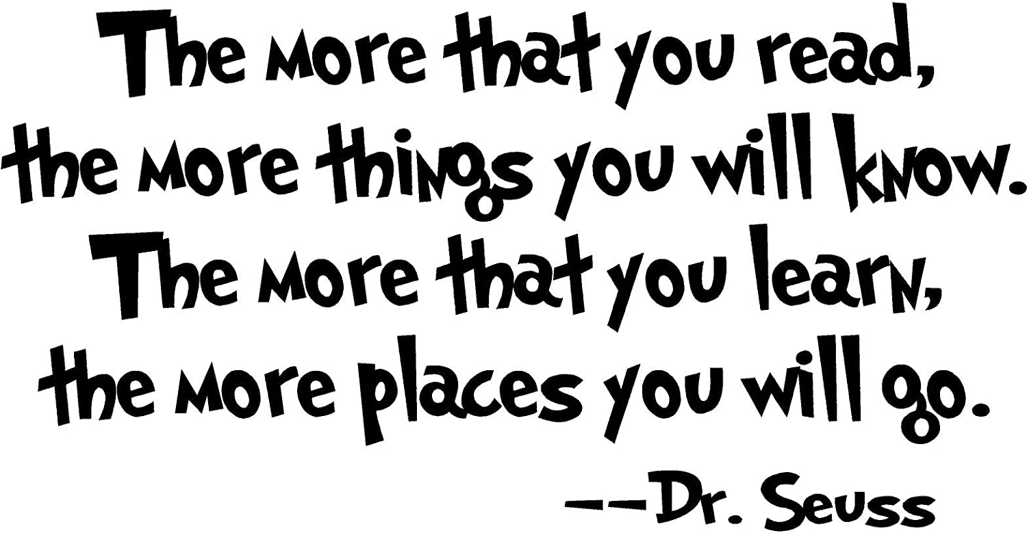 Dr Seuss Wall Quotes