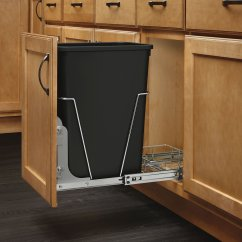 Hide Kitchen Trash Can Photos Of Cabinets In Cabinet Pull Out Hiding Black