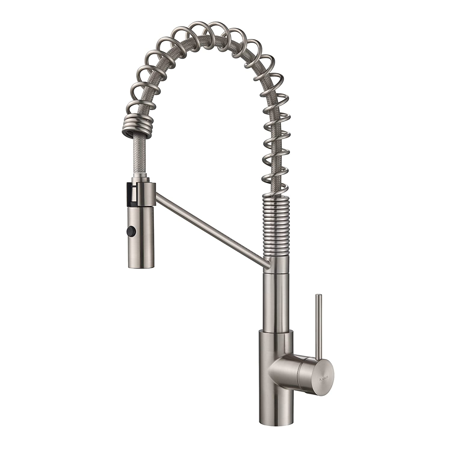 kitchen faucet commercial style 2 handle kraus mateo modern with coil  pros and