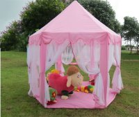 Tent Playhouse Canopy Princess Castle Kids Girls Toys Play ...