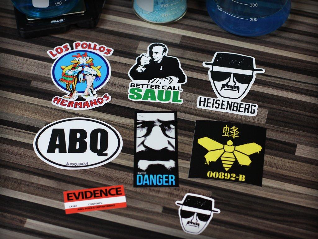 Ultimate Sticker Collection, Heisenberg, Los Pollos Hermanos, Breaking Bad