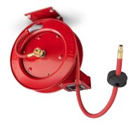 TEKTON 46771 Retractable Air Hose Reel with 25-Feet by 3/8 ...