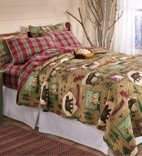 Rustic Bedding and Cabin Bedding