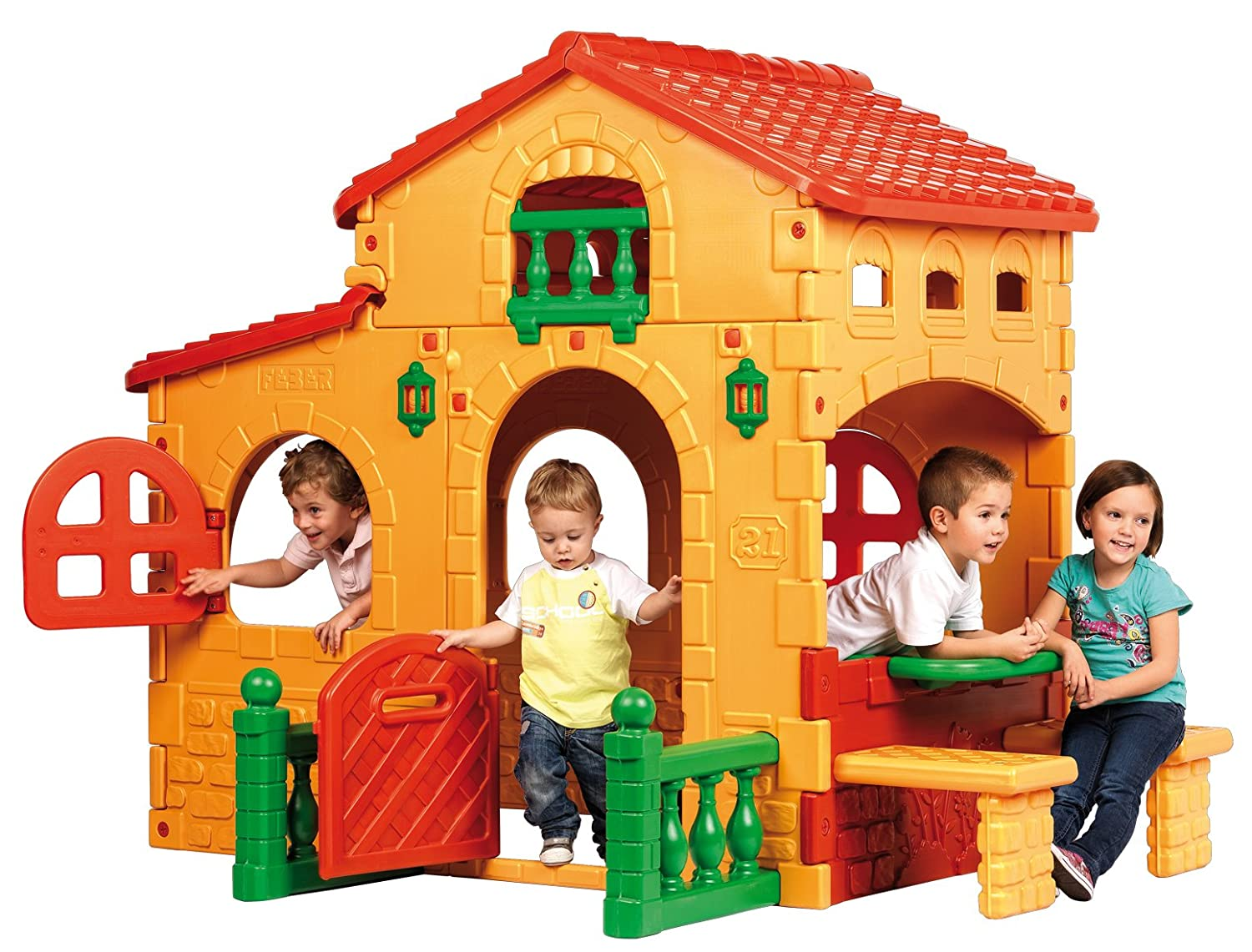 Plastic Playhouse for Kids  fel7com