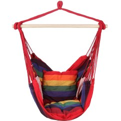 Hanging Chair Hammock Tables And Chairs Argos Comfortable Garden Swing