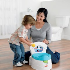 Potty Chairs For Babies Desk Chair Vinyl Blue Fisher Price Training Kids Toddler Toilet Seat