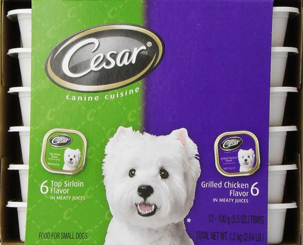 Cesar Canine Cuisine Variety Pack Top Sirloin Grilled