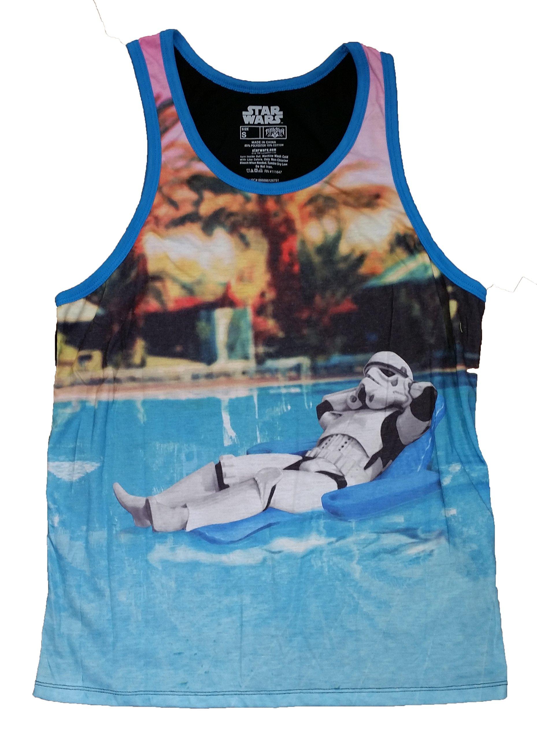 Star Wars Stormtrooper Pool Floatie Graphic Tank Top Vest