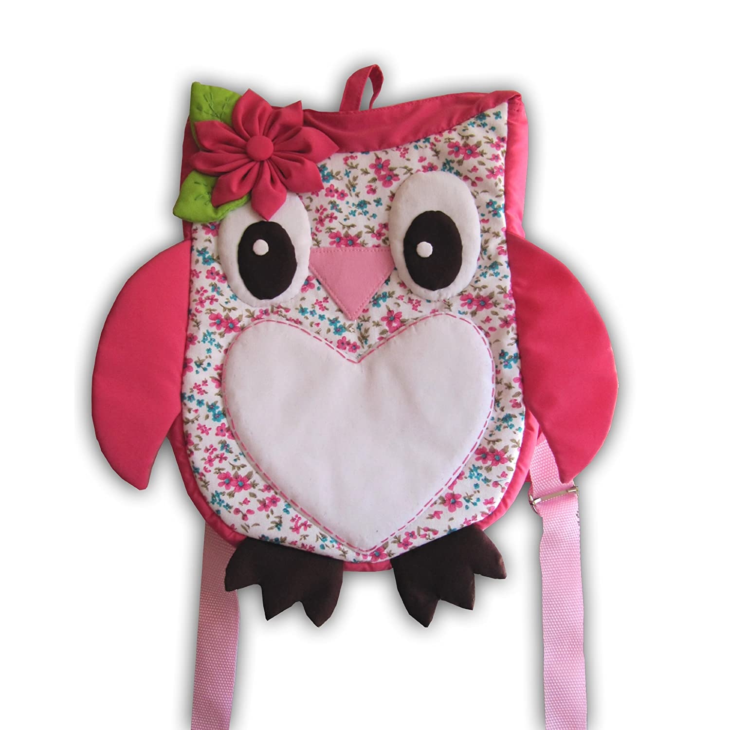 Owl Little Kid Backpack /Insulated Lunch Bag