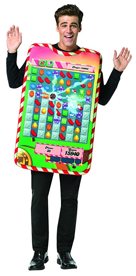 Rasta Imposta Men's Candy Crush Game Board Tunic, Multi, One Size