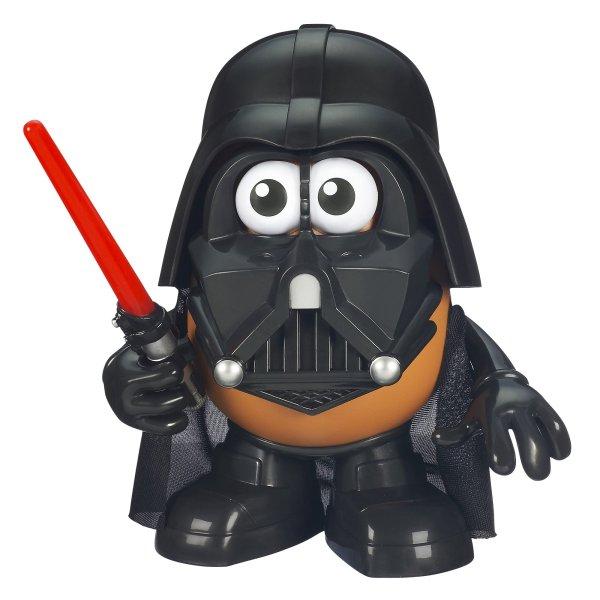Playskool . Potato Head Star Wars Darth Tater Toy